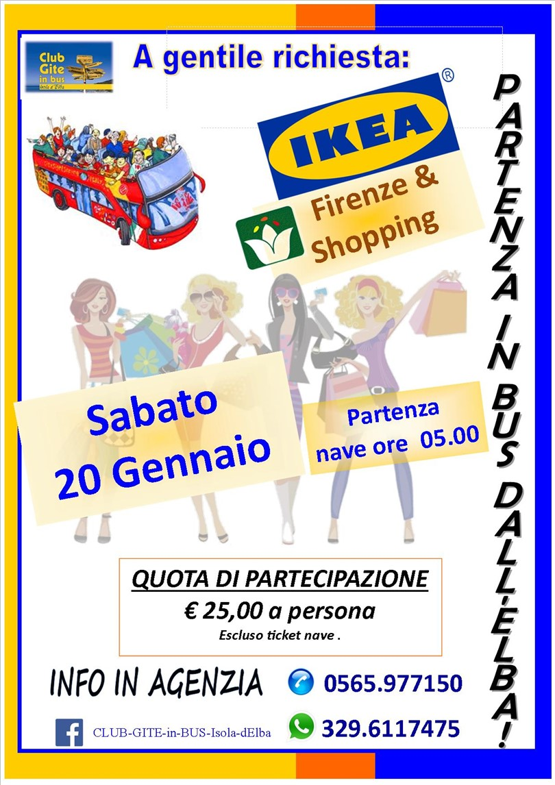 Ikea firenze shopping eventi elba elbamylove for Arredamento tabaccheria ikea